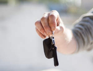 debtor holding his car keys