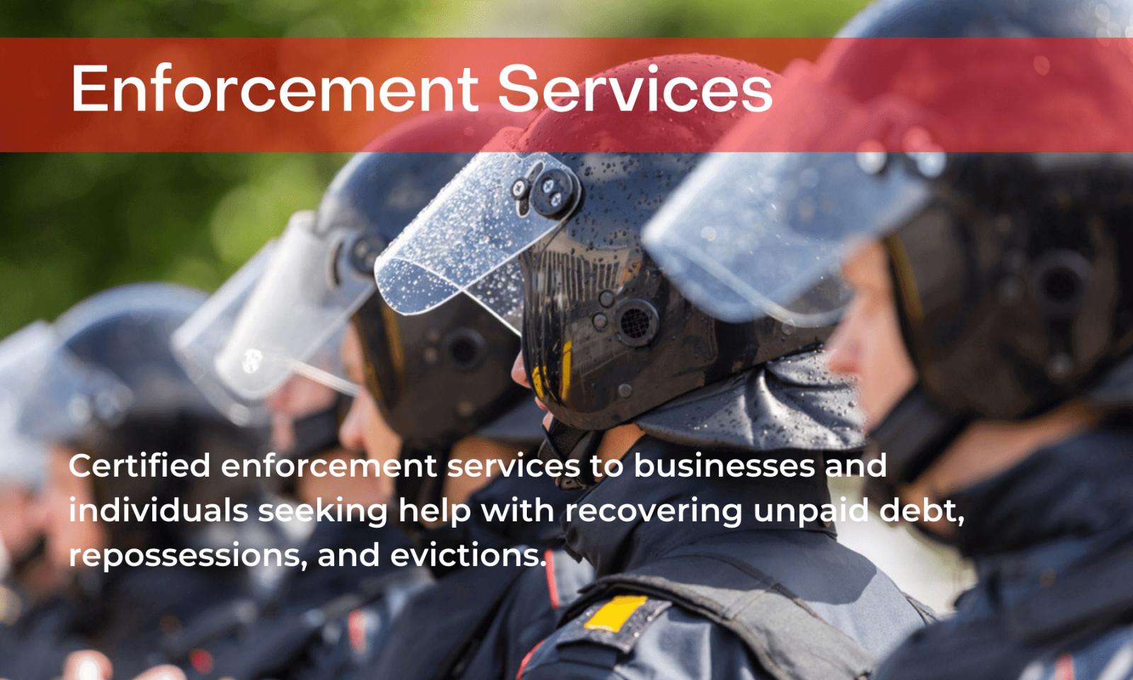 enforcement services
