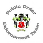 public order enforcement team logo
