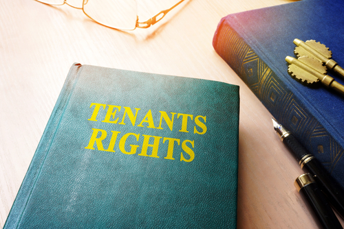 tenant rights book on a table