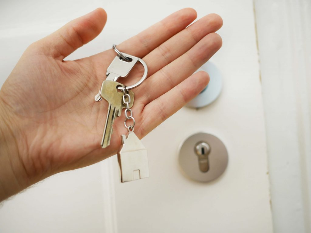 A set of keys to a rented property, evicting a tenant without going to court